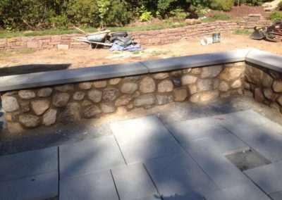 Retaining Wall and Decorative Stone Wall Construction in Old Saybrook, CT