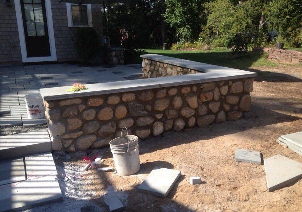 Glastonbury, CT | Stone Retaining Wall Construction | Block Walls | Masonry Contractor Near Me