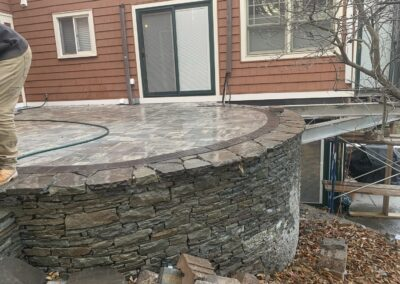 Middletown, CT   Block and Stone Retaining Wall Construction Contractor